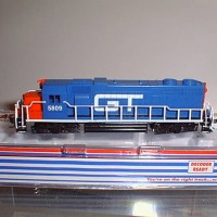 CUSTOM GT #5809 GP38 SIDE VIEW