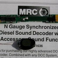 MRC N Scale Sound Decoder for Atlas N Locos