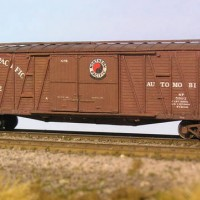 Northern Pacific 50' Automobile Boxcar