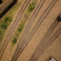 Sand Soil and ballast:  Unpainted