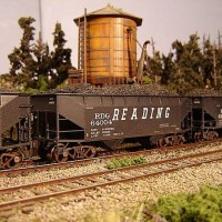 Atlas Coal Drag RDG hopper 64004