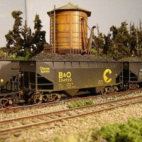 Atlas Coal Drag Chessie hopper 234920