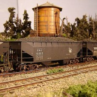 Atlas Coal Drag CNJ hopper 10303