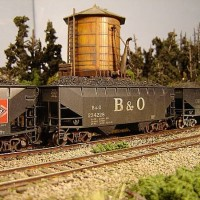Atlas Coal Drag B&O hopper 234228