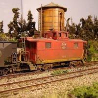 Atlas Coal Drag LNE Caboose 588