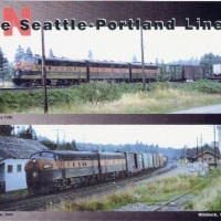 GN Freights at Winlock WA 10 and 25 July 1969