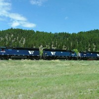 Pure SD45's in 2006?  Only in Montana!