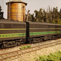Athearn Coal Drag Reading FB1