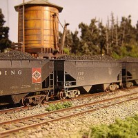 Athearn Coal Drag CPR hopper 10175