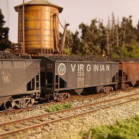 Athearn Coal Drag VGN hopper 9502