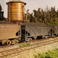 Athearn Coal Drag C&O hopper 54913