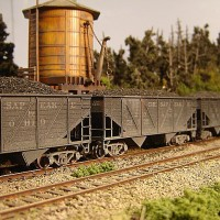 Athearn Coal Drag C&O hopper 54390