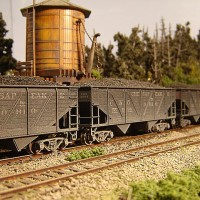 Athearn Coal Drag C&O hopper 55084
