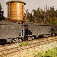 Athearn Coal Drag C&O hopper 54261