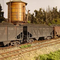 Athearn Coal Drag C&O hopper 54752