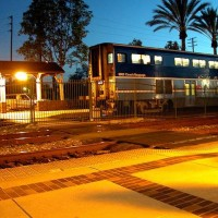 Surfliner At Fullerton CA