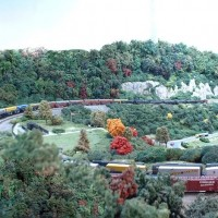 Horseshoe Curve vista on old layout