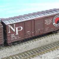 Northern Pacific 40' Combo Boxcar