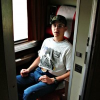 Me, on the California Zephyr