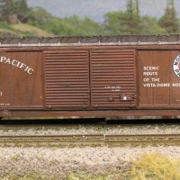Northern Pacific 6500 series 50' double door Boxcar.