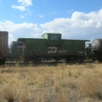 BNSF local in Butte