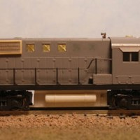 BCR RS-10 No. 584 - LH Side View