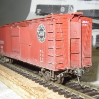 Westerfiels SP Lines boxcar kit