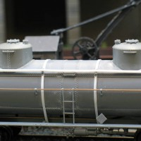 Tank car modification to twin dome version
