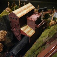 Scratch Built Coal Mine