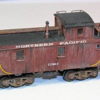 Northern Pacific Caboose #1367