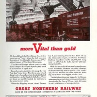 Great Northern RR 1943 ...War Effort Magazine Ad