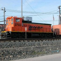 SW Switching in San Antonio BNSF7303