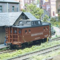 Bowser N5C Pennsy Caboose