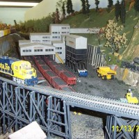 Visiting River City Model RR Club in Pekin Illinois