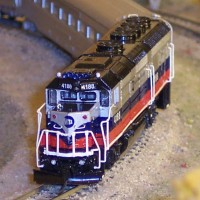 N scale Metro North GP40FH-2