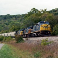 CSX7375 NB at Glencoe KY 10-12-07