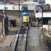 CSX Queensgate Yard hump (Cincinnati)