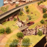 "Details on Lucien Wiss / Daniel Roth ""Somewhere West"" N scale lay"