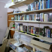 Room redecoration, bookshelves