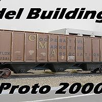 Model Kit Build - Proto 2000 Covered Hopper Model Railroad - YouTube