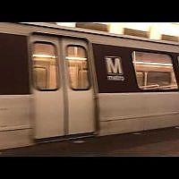 WMATA 3000 Series Orange Line at Federal Triangle