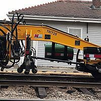 [Video] Railroad tie replacement on Fitchburg Line