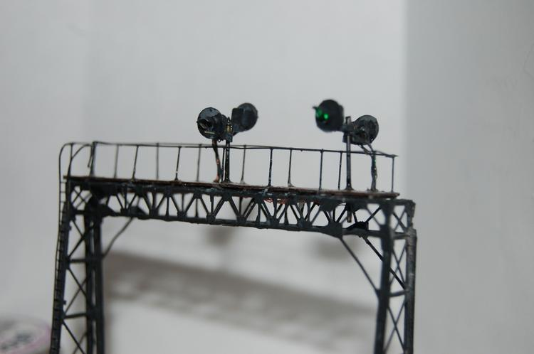All four signals on bridge