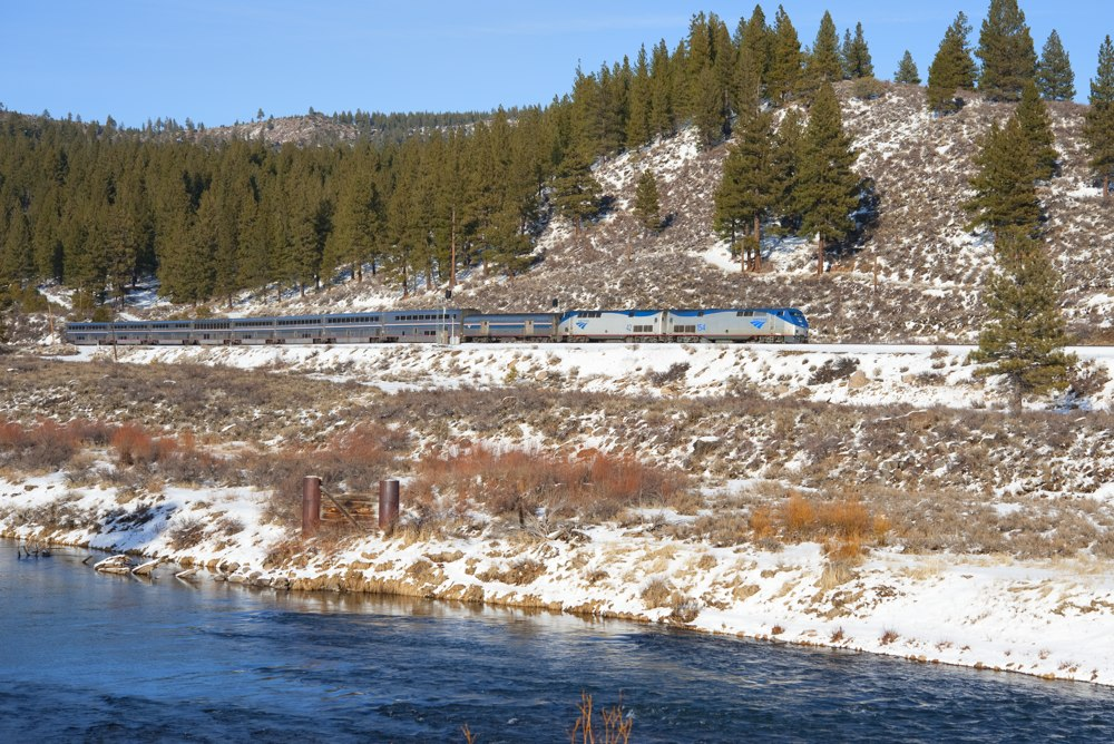 Amtrak 6 eastbound from Truckee, CA