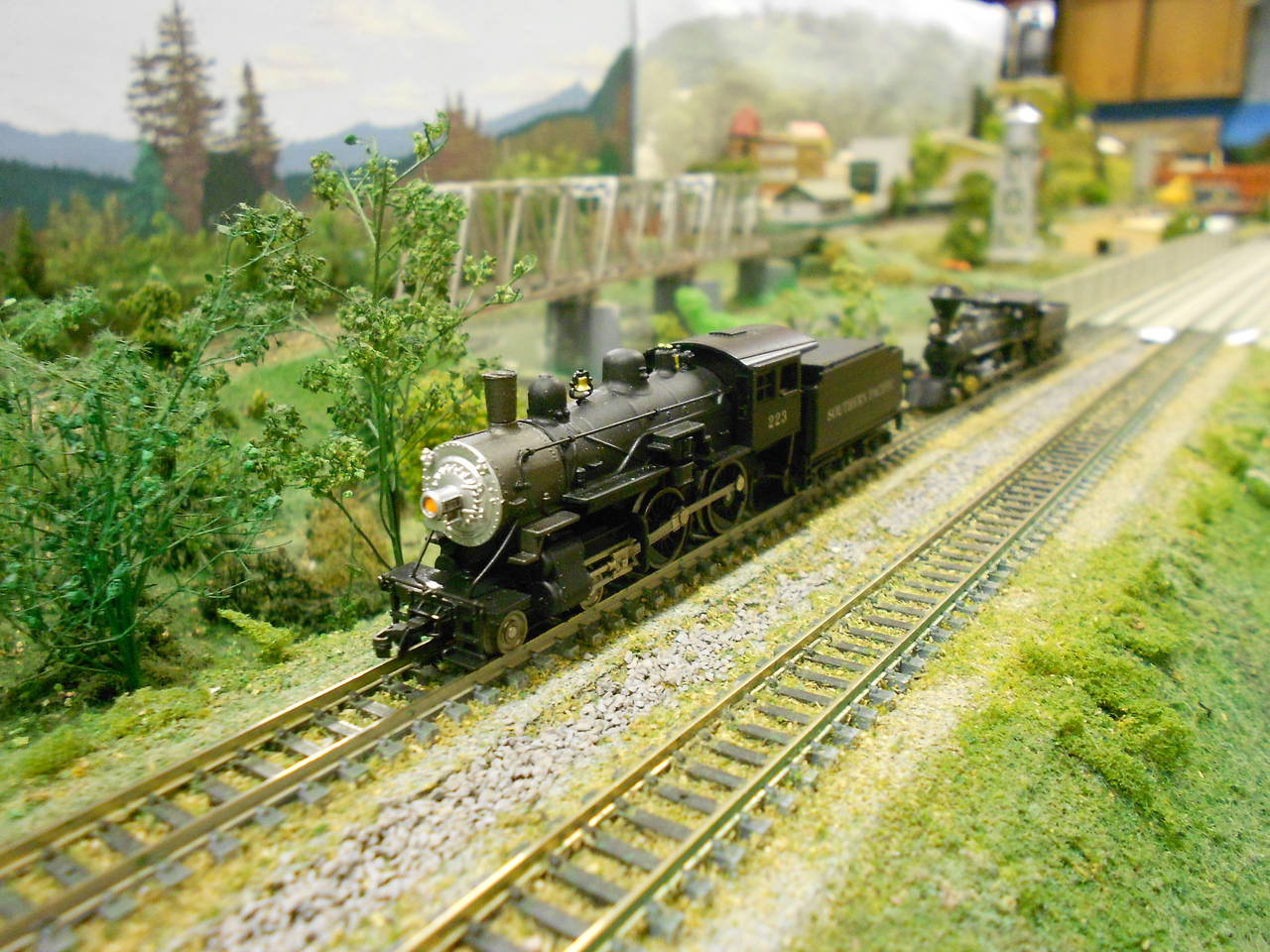 An N scale 4-4-0 outing
