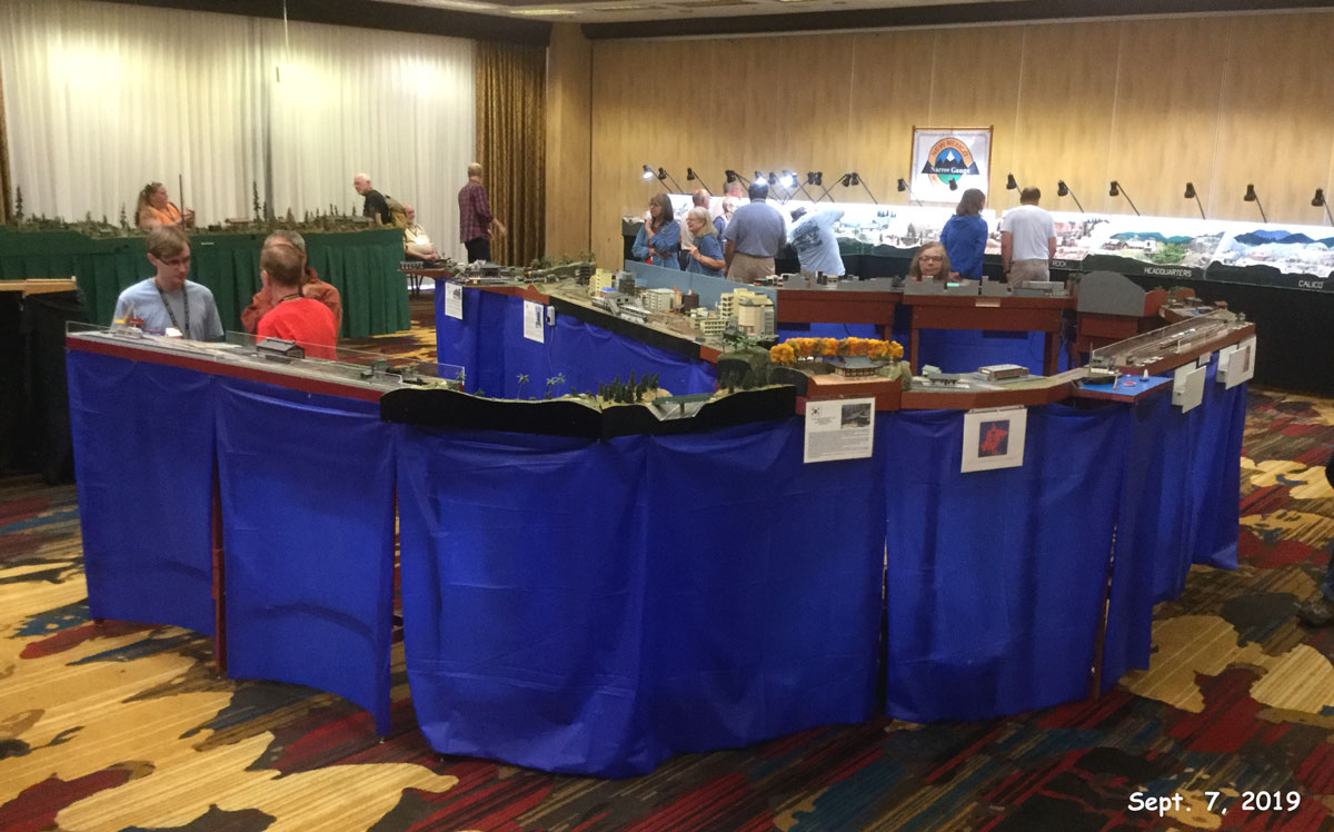 AsiaNrail layout at 2019 Narrow Gauge Convention