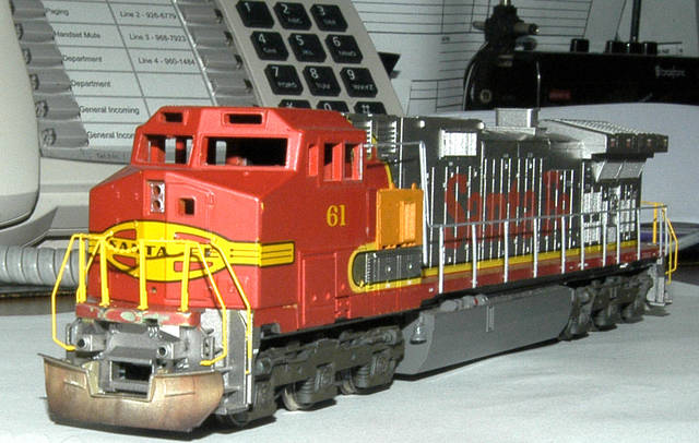 Athearn Dash 9 snow plow