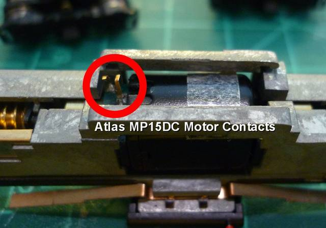 Atlas MP15DC Motor Contacts