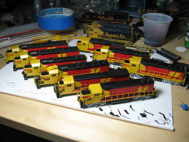 ATSF Kodachrome Fleet
