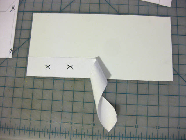 Attaching the Template to Styrene